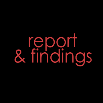report and findings